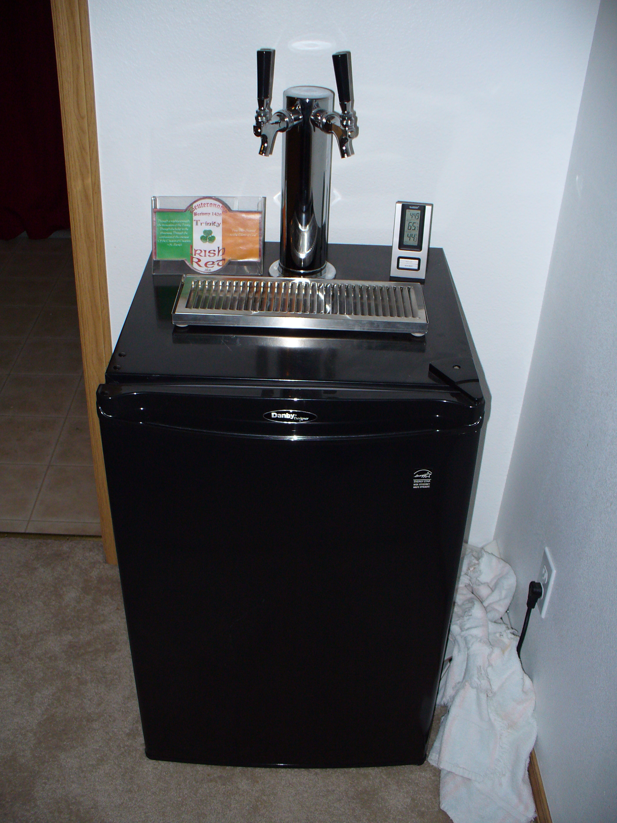 how to build your own kegerator