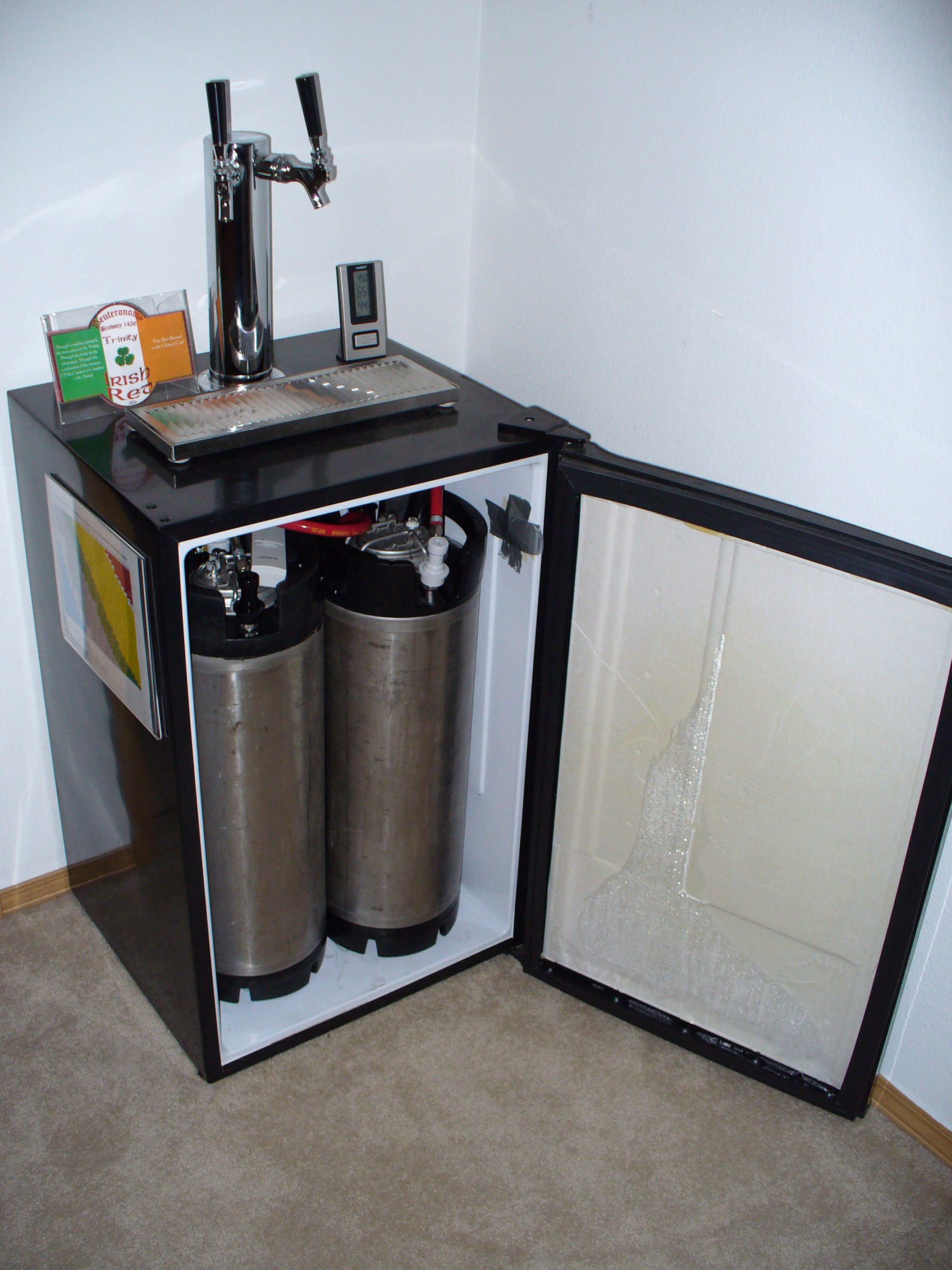 Kegerator Conversion